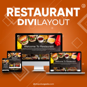 Divi Restaurant Layout