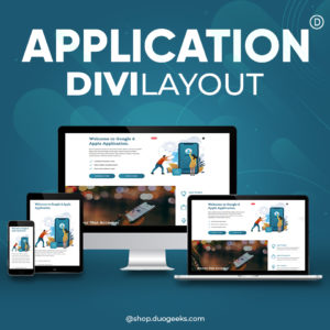 divi Mobile Application Layout