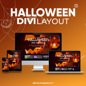 Divi Halloween Sales Layout