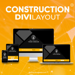 Divi Construction Layout