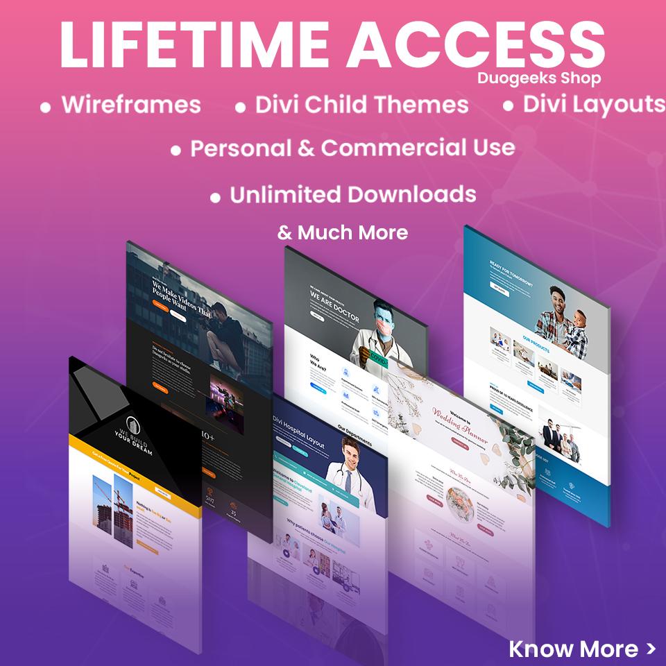 Duogeeks Lifetime Access Pass