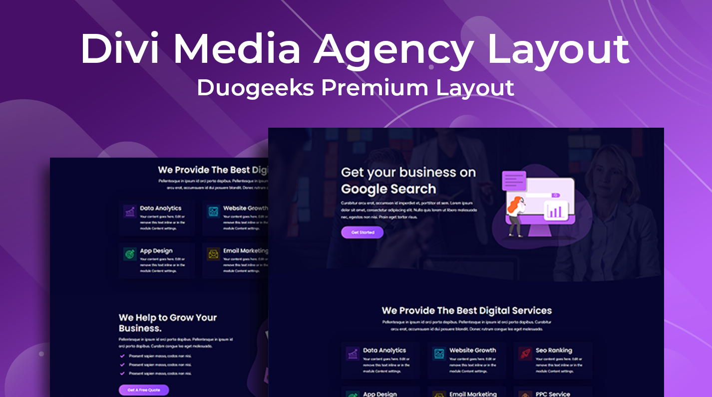 Divi Resume Layout