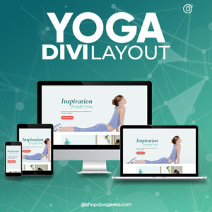 Divi Yoga Layout