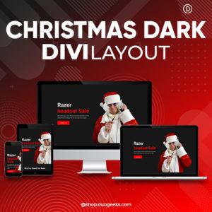 Divi Christmas Layout